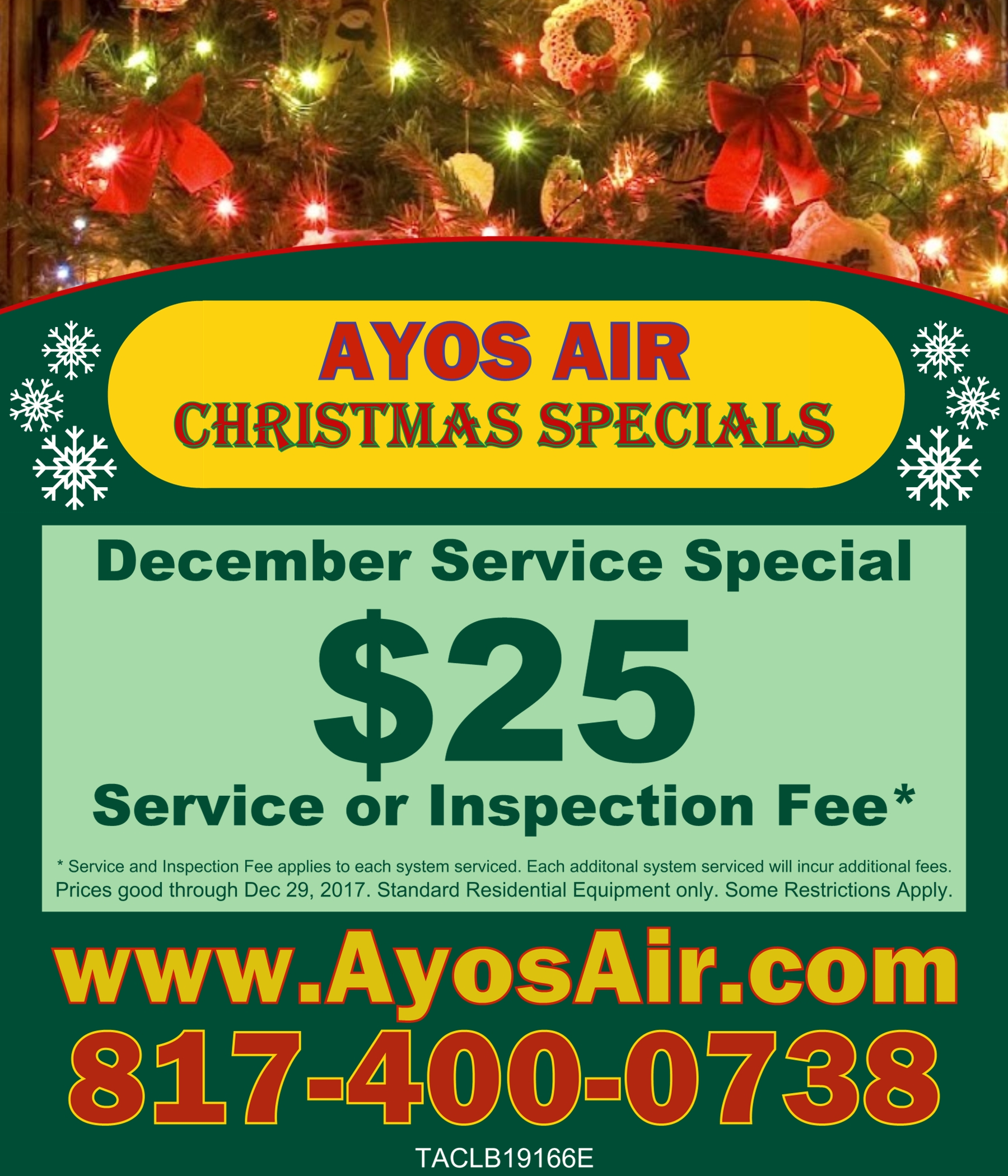 Christmas Service Special with info